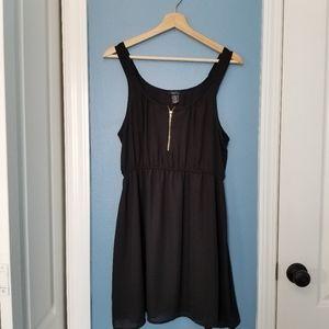 Rue 21 short black tank dress (L)